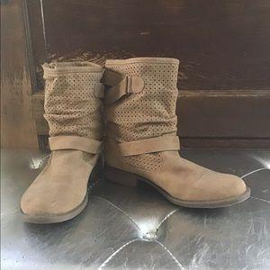Tan Ankle boots Vegan
